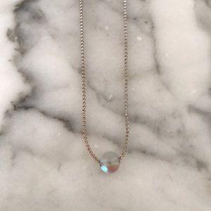 BRANDY MELVILLE Opalescent Choker Necklace